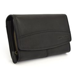Ekskluzywny portfel Hill Burry hb5033 czarny