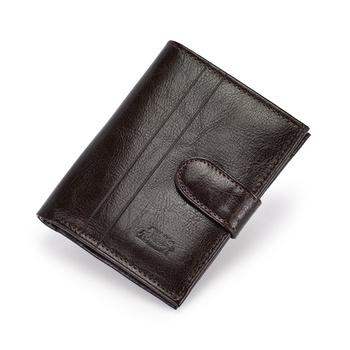 Pojemny stylowy męski portfel skórzany Elkor
