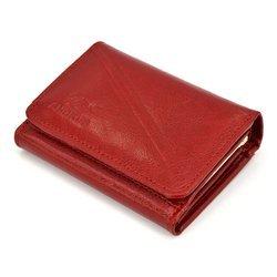 Portfel skórzany Andrus classic 012b czerwony