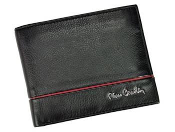 Rozbudowany pojemny męski portfel Pierre Cardin