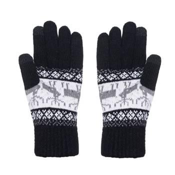 Wełniane ciepłe rękawiczki męskie