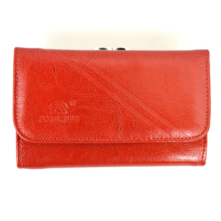 Ekskluzywny portfel damski Andrus 014b skórzany