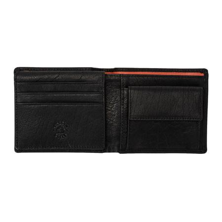 Pakowny prosty męski portfel skórzany Nuvola Pelle