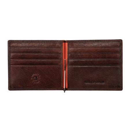 Stylowy męski portfel, etui dla kart Nuvola Pelle